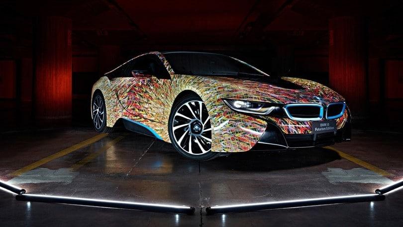 BMW i8 Futurism Editon, quella di Garage Italia Customs