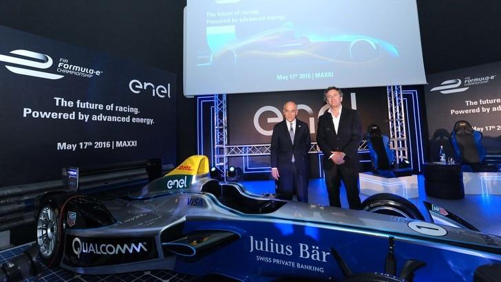 Partnership tra Enel e Formula E per azzerare le emissioni
