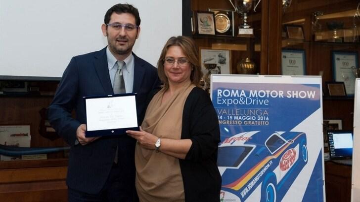 Andrea Del Campo di Ford Italia ha vinto il Motor Award 2016