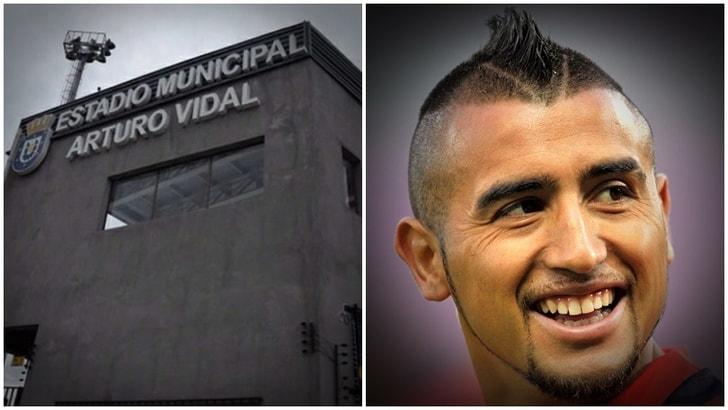 In Cile hanno dedicato uno stadio ad Arturo Vidal
