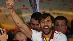 Siviglia, entusiasmo Llorente: «Grande impresa»