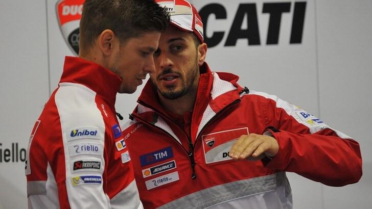 MotoGp Ducati, Dovizioso: «Condizioni della pista diverse»