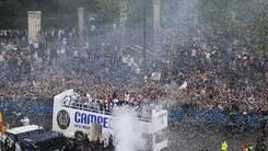 """Champions League, Madrid impazzisce per i suoi """"Campeones"""""""