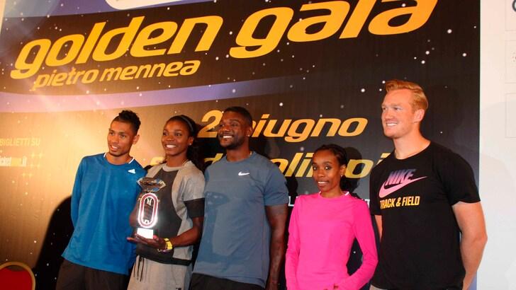 Atletica: passerella di star al Golden Gala di Roma