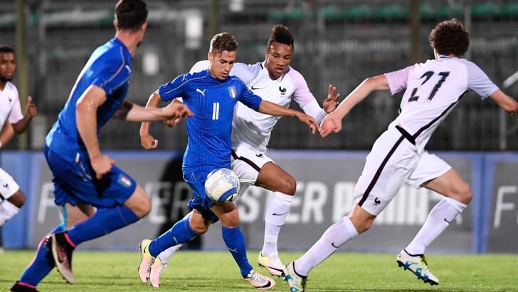 Under 21, Italia-Francia 0-1: decide Cornet