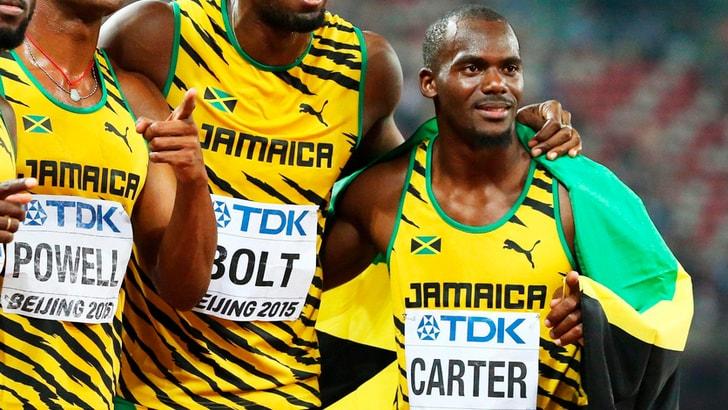 Atletica Jamaica: il dopato sarebbe Carter, Bolt perderà l'oro olimpico?