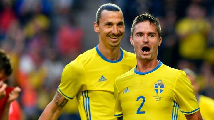 Amichevoli, Svezia-Galles 3-0: Ibrahimovic, assist e magie