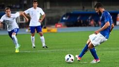 Italia-Finlandia 2-0: Candreva-De Rossi gol, Zaza il migliore