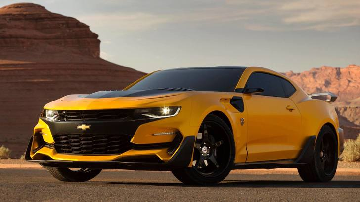 Transformer 5, ecco la nuova Camaro-Bumblebee