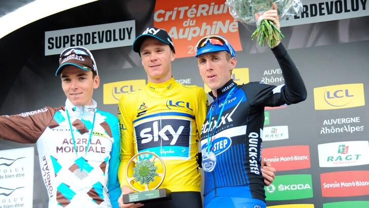Ciclismo, tris Froome: il Delfinato è suo