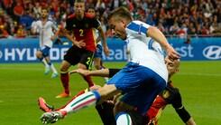 Euro 2016, la moviola di Belgio-Italia: su Giaccherini era rigore