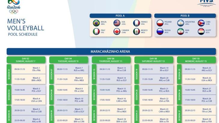 Volley Maschile Calendario.Volley Maschile Calendario