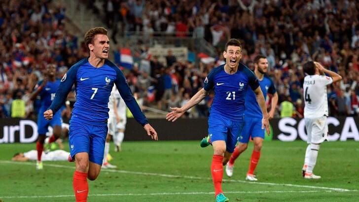 Euro 2016, Francia-Albania 2-0: padroni di casa agli ottavi