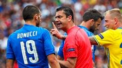 Euro 2016 Italia: la Svezia chiede un rigore al 94'