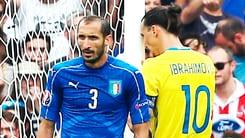 Euro 2016 Italia, Chiellini: «Ibrahimovic? L'ho sempre amato, anche per la sua simpatia»