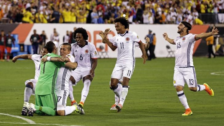 Coppa America, Colombia ok: il trionfo scende a 5,00