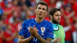 Croazia in ansia per Mandzukic e Modric: in dubbio per la Spagna