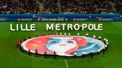Euro 2016, manca l'erba? A Lille vernice verde sul terreno di gioco