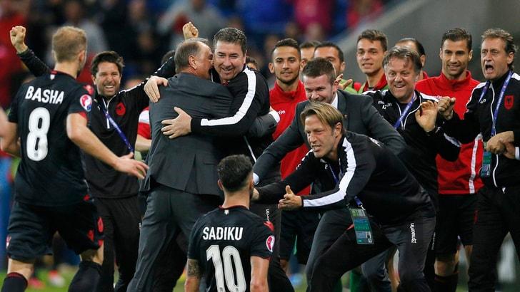 Euro 2016, Romania-Albania 0-1: Sadiku segna, De Biasi sogna