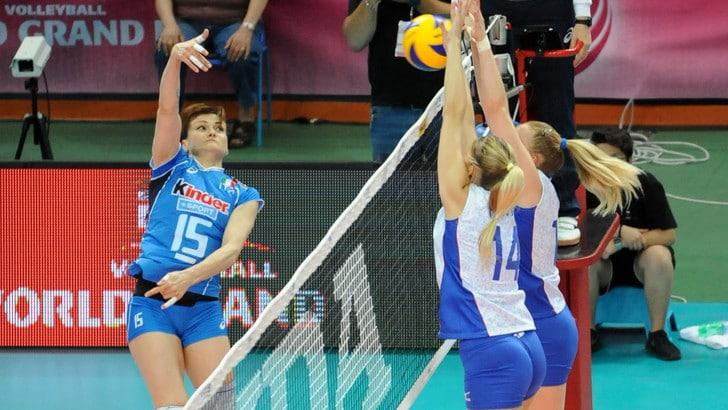 L'Italdonne cresce. 2-3 con la Russia campione d'Europa
