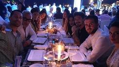 Pjanic a Ibiza con la moglie: eccolo alla festa di Borriello