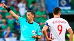 Euro 2016: Italia-Irlanda, arbitrail romeno Hategan