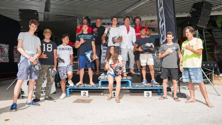 Campionati Nazionali Giovanili Slalom Windsurf: tutti i vincitori
