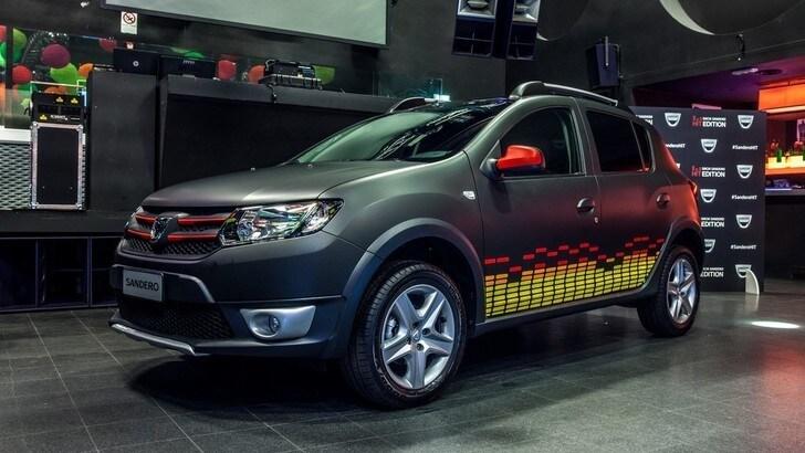 Dacia Sandero Hit Edition, alta fedeltà per famiglie