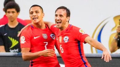 Coppa America: il Cile è la seconda finalista, stesa la Colombia 2-0