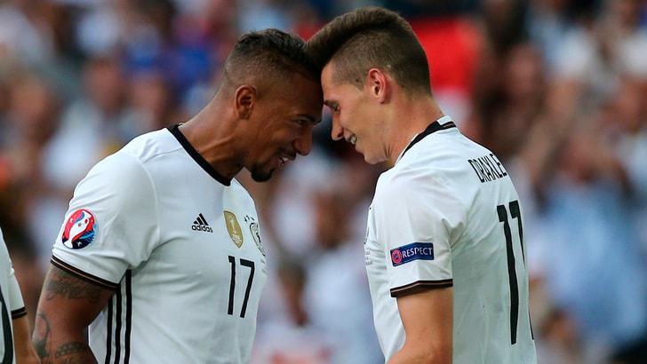 Euro 2016, Germania-Slovacchia 3-0: Khedira e compagni ai quarti