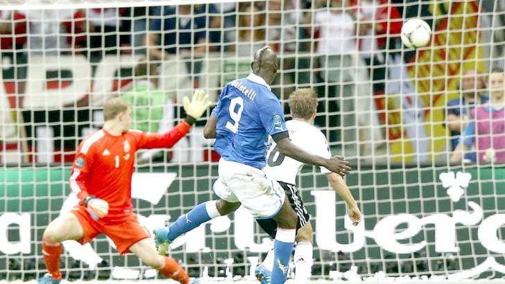 28 giugno 2012, Italia-Germania la decide Balotelli