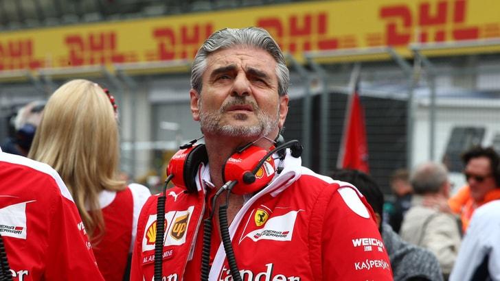 F1, Arrivabene: «Ferrari all'opera per il 2018»