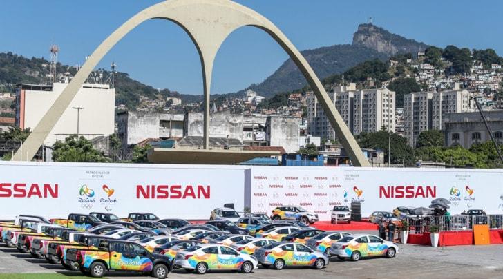 Le Olimpiadi di Rio sono targate Nissan