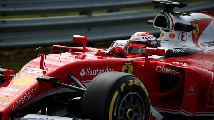 F1 Ferrari, Raikkonen: «Possiamo vincere e non vogliamo arrenderci»