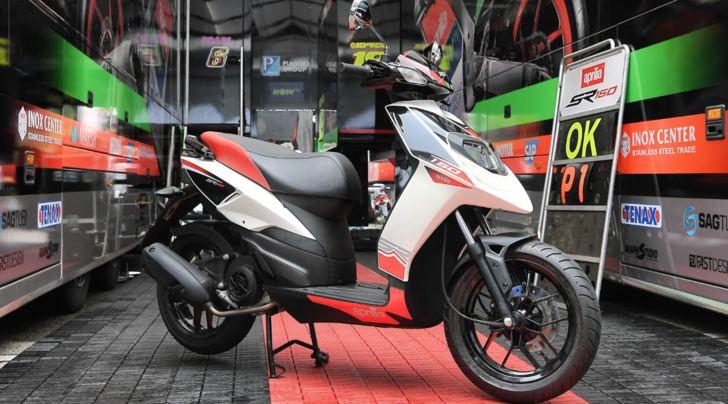 Piaggio lancia gli scooter Aprilia in India