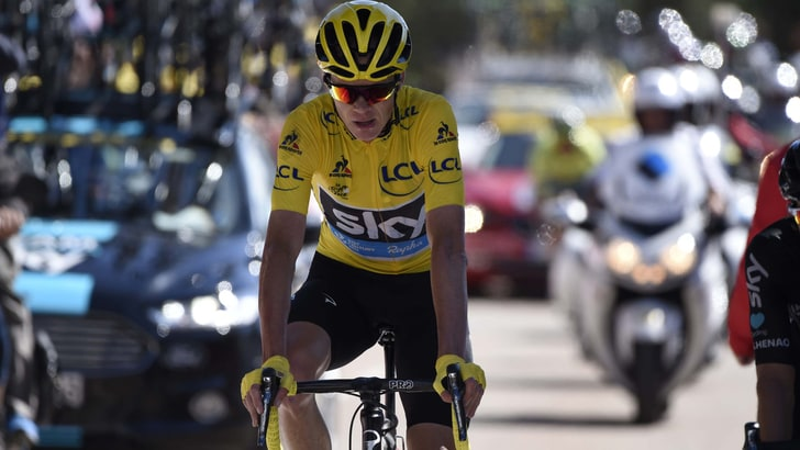 Tour de France: Froome si invola in lavagna