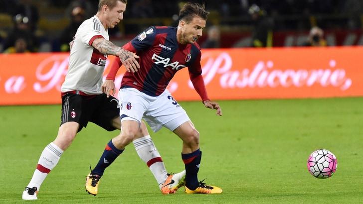Calciomercato Bologna, Brighi ceduto al Perugia