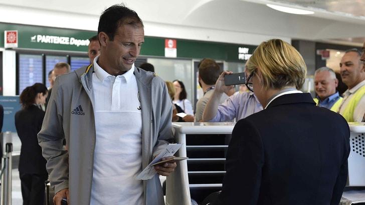 La Juventus è a Melbourne dopo un viaggio di 24 ore