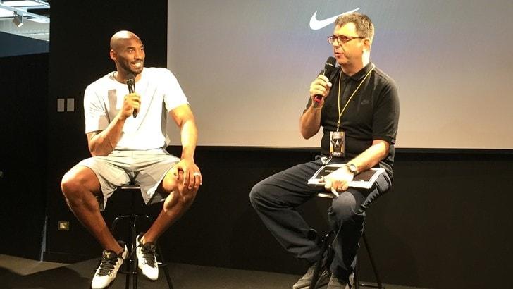 Kobe Bryant, visto (e sentito) da vicino