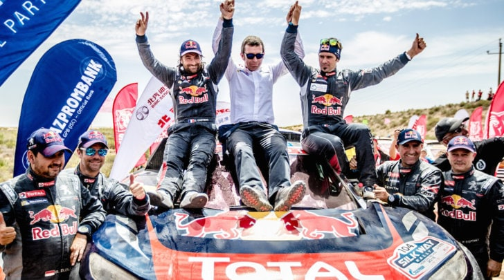 Trionfo Peugeot al Silk Way Rally, Despres Leone del deserto