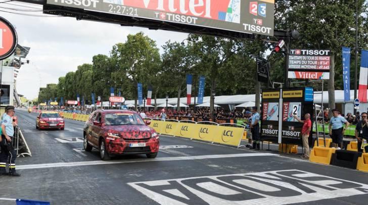 """Skoda Kodiaq in """"maglia gialla"""" al Tour de France"""