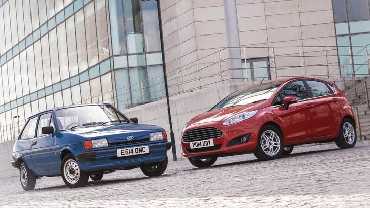 Ford Fiesta, un successo lungo 40 anni e l'obiettivo 20 milioni di auto