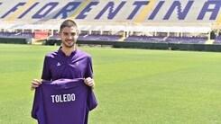 Calciomercato Fiorentina, Toledo: «Tappa importante per la mia carriera»
