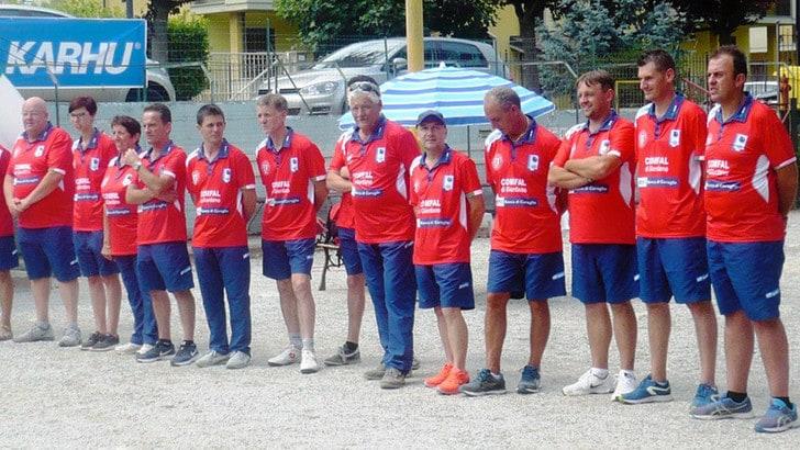Eurocup petanque - La Valle Maira in finale sul velluto