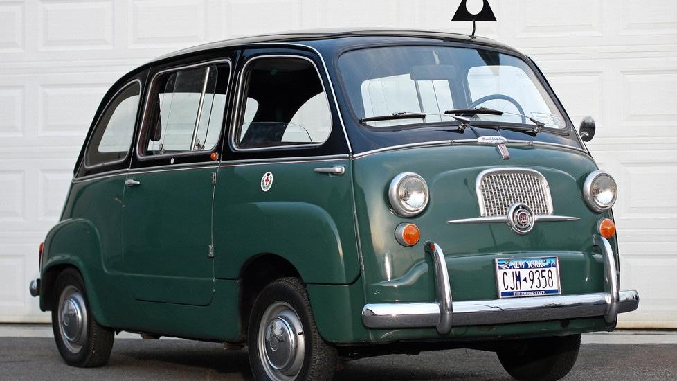fiat 600 multipla il taxi per antonomasia tuttosport. Black Bedroom Furniture Sets. Home Design Ideas