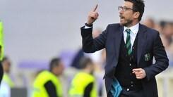 Europa League Sassuolo, Di Francesco: «Berardi grande trascinatore»