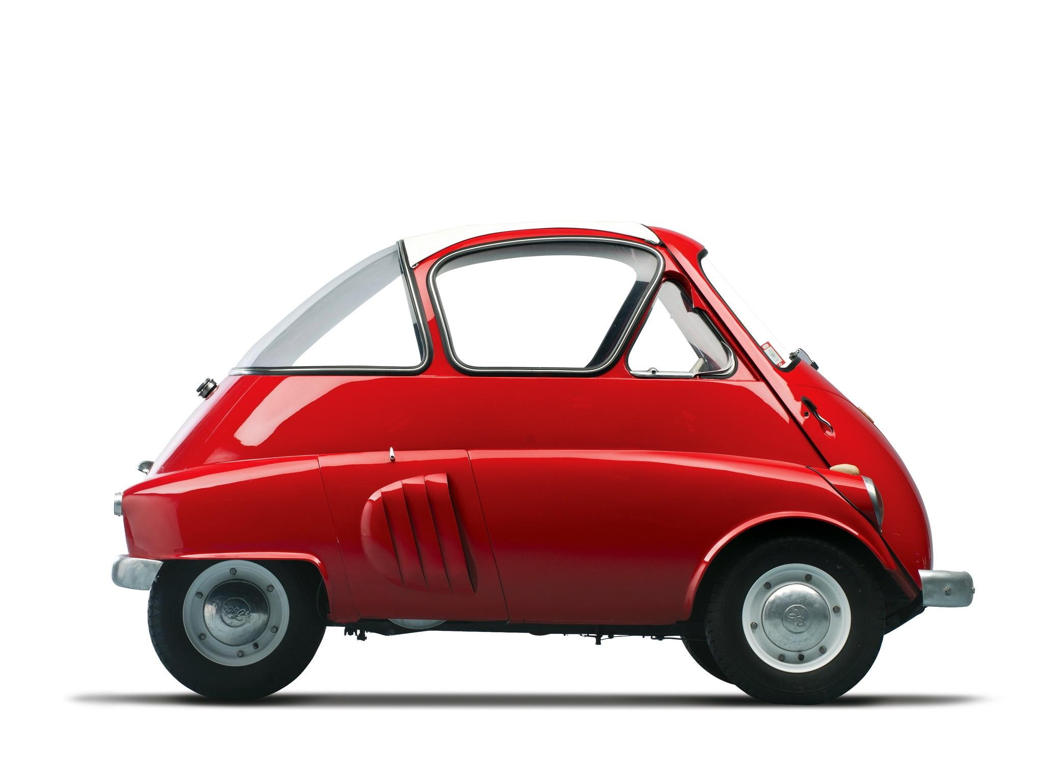 Iso Isetta - la microcar italiana della BMW