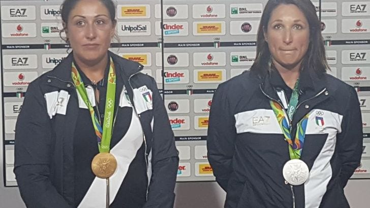 Rio 2016, Italia show nello skeet: Bacosi oro, Cainero argento