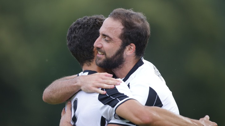 Villar Perosa: Juventus A-Juventus B 2-0: primo gol di Higuain