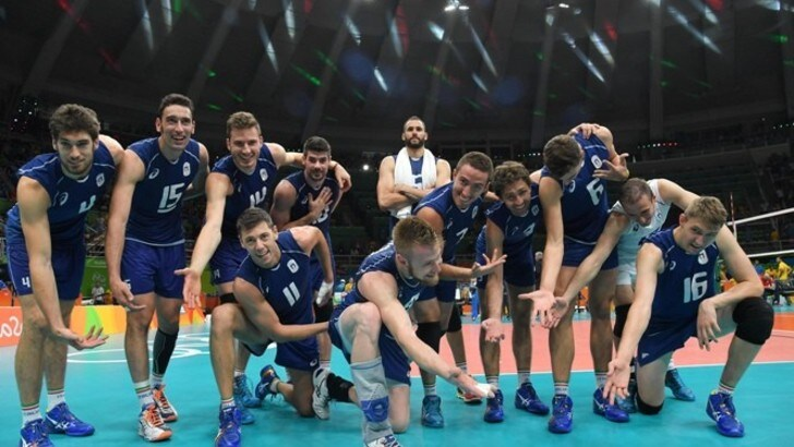 Fantastica Italia. 3-2 agli USA. E' finale olimpica